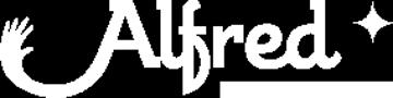 Logo version smartphone société de services à la personne Alfred à Lyon 69